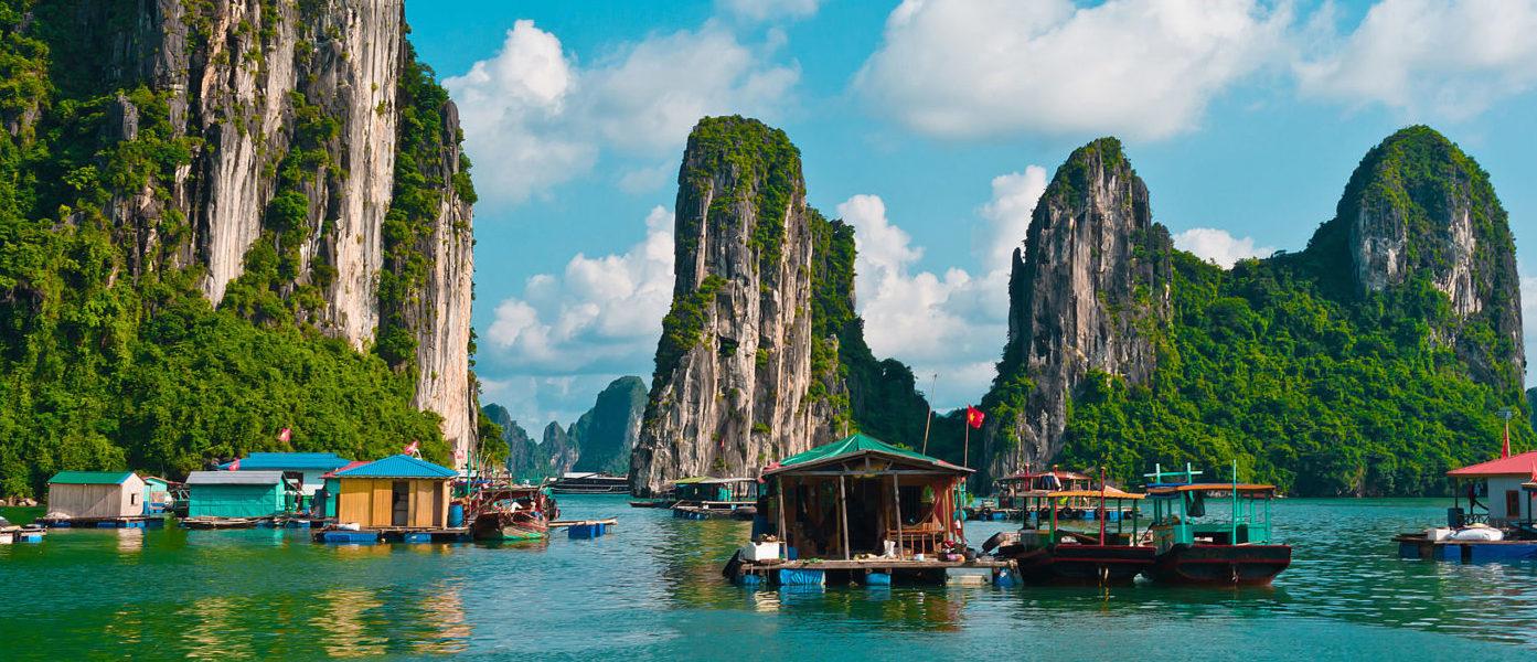 Vietnam Mon Amour: a bordo delle crociere Orchid e Azalea Cruise la scoperta delle baie più suggestive del Paese è ancora più affascinante e confortevole !!!