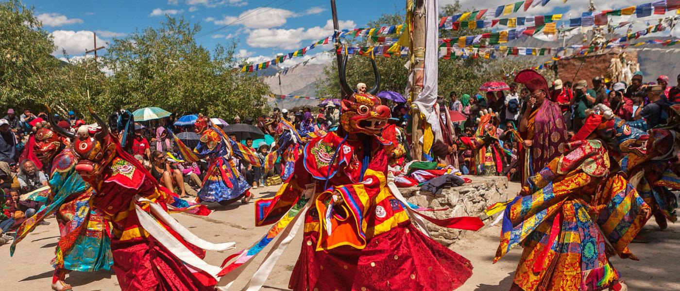 Ladakh, il Tibet indiano in festa per Padmasambhava