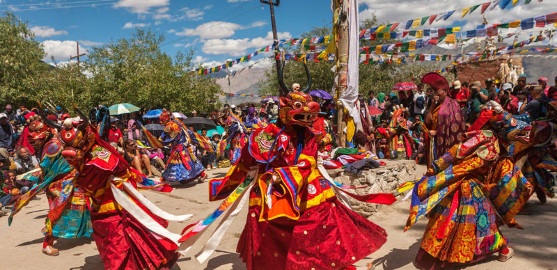 Ladakh, Indian Tibet celebrating Padmasambhava