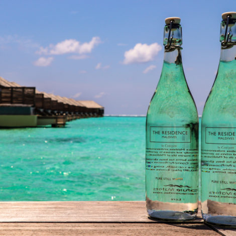 Eco-friendly turnaround for the two Resorts The Residence Maldives