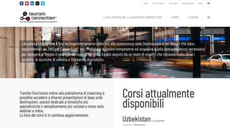 ACADEMY CONNECTION , e.training platform about our destinations, is online