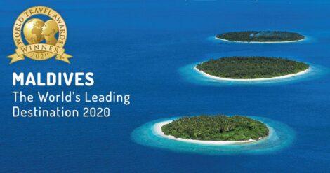 THE MALDIVES WIN THE 2020 WORLD'S LEADING DESTINATION AWARD