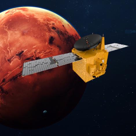 """EMIRATI ARABI UNITI – Missione spaziale """"HOPE"""""""